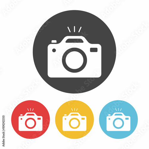 Obraz camera icon - fototapety do salonu