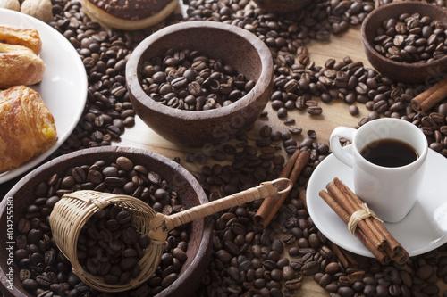 Fototapety, obrazy: coffee theme