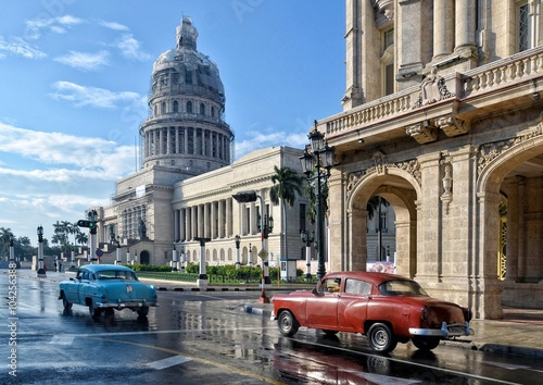 Poster de jardin Havana Cuba, Havana