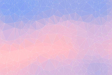 Seamless abstract triangle polygonal mosaic pastel pattern background