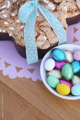 Fotografie, Obraz  Colomba di Pasqua. Dolce italiano