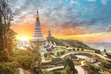 The Pagodas - Chiangmai  Thailand