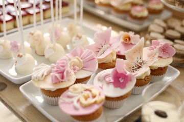 Sweets at a wedding