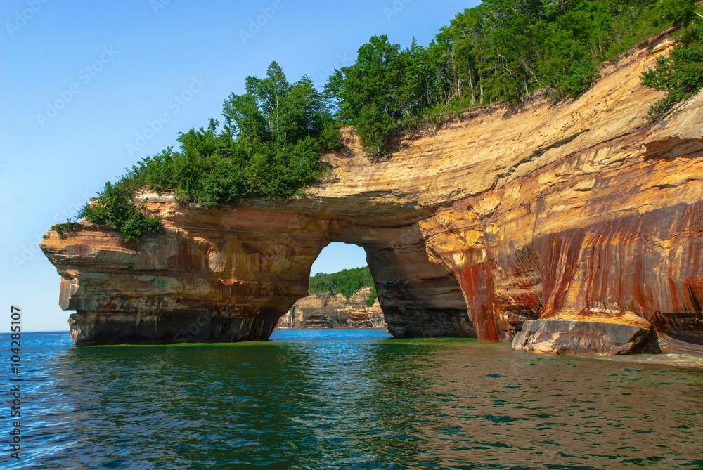 Pictured Rocks National Lakeshore. Michigan, USA.