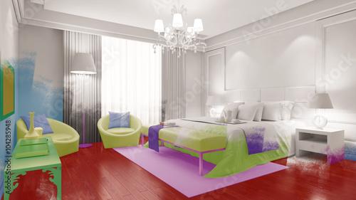Wirkung von Farbe im Schlafzimmer – kaufen Sie diese ...