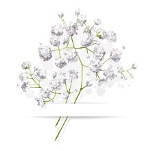 Little White Flowers Bouquet