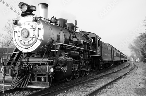 The Steam engine Canvas