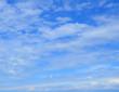 Background of blue sky
