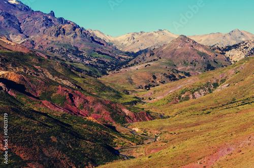Poster Crimson Patagonia