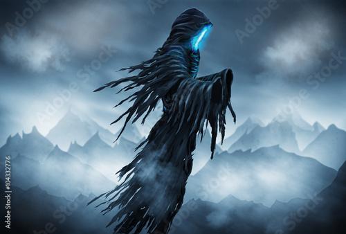 Fotografie, Obraz  Grim Reaper