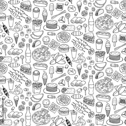 fast-food-doodle-szwu