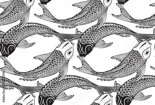 bezszwowe-wektor-wzor-z-recznie-rysowane-ryby-koi