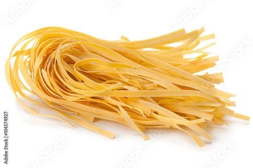 Wheat uncooked noodles Fototapeta