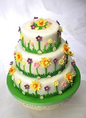 Obraz na Szkle Słodycze Torta primavera