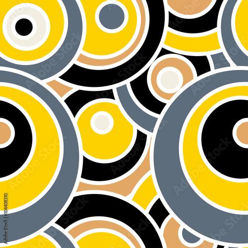 wektor-bez-szwu-geometryczny-wzor-moj-wszechswiat-zolte-szare-bezowe-kola