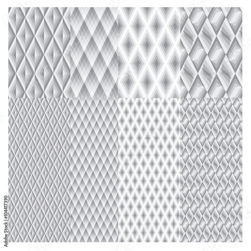 Photo  checkered gray vector pattern