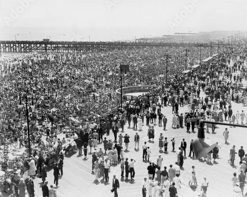 Fotografia  Coney Island, NY, on July 4, 1936