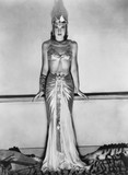 Portrait of woman in dramatic Egyptian costume  - 104432328