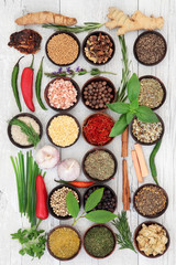 Fototapeta Culinary Herbs and Spices