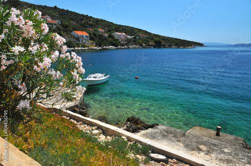 Foto op Plexiglas Panoramafoto s Mediterranean coast