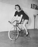 Wodoodporny sposób na jazdę na rowerze - 104439948