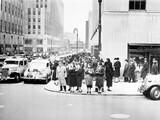 Piąta Aleja i 50th Street, Nowy Jork, NY, około 1938 roku - 104445571