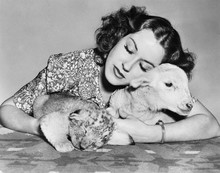 Woman With Sleeping Lamb And L...