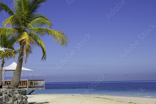 Spoed Foto op Canvas Oceanië Tropical Island resort