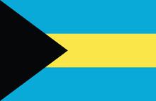 The Bahamas Flag.