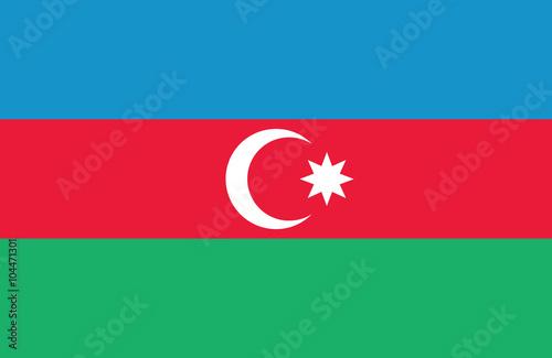Photo Azerbaijan flag