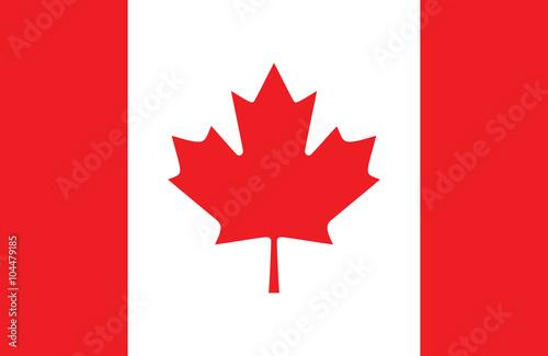 Fotografie, Obraz  Canadian flag.