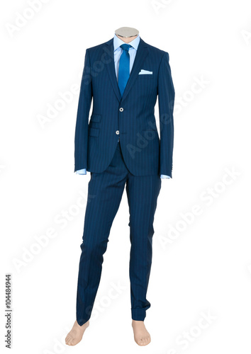 Fotografie, Obraz  Beautiful suit on a man doll