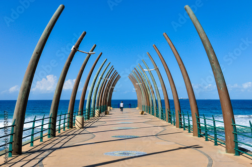 Poster Afrique du Sud Umhlanga Stormwater Pier; Südafrika