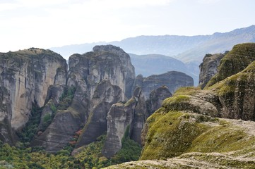 Mountains of Meteora, Greece