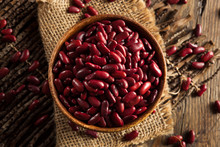Raw Red Organic Kidney Beans