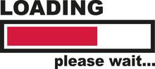 Loading Please Wait - Bar