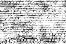Black And White Wall Painting Art, Inspirational Background Image.
