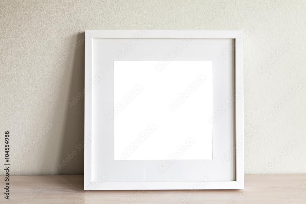 Photo & Art Print White square frame mockup | EuroPosters