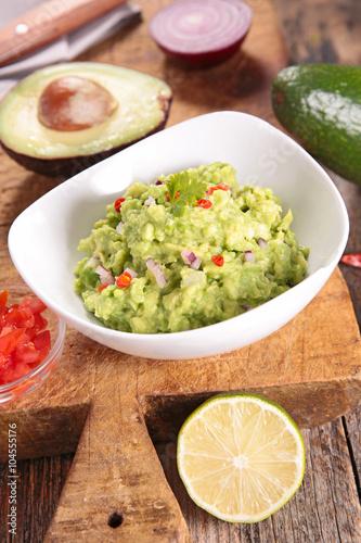 Recess Fitting Appetizer guacamole