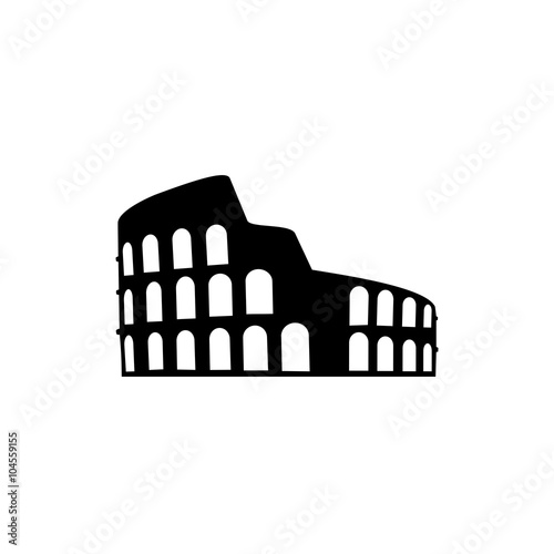 Stampa su Tela Coliseum Icon
