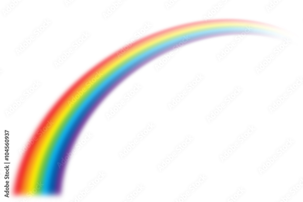 Fototapety, obrazy: illustration of rainbow