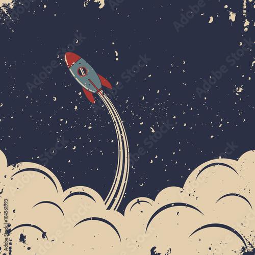 start-rakiety-w-stylu-retro
