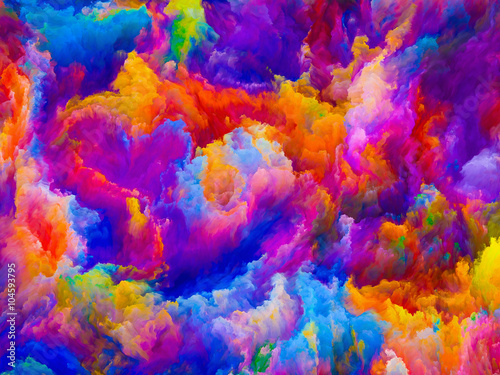 Fototapety, obrazy: Energy of Colors