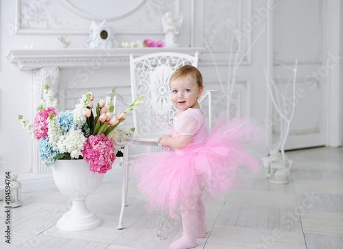 Photo  Birthday of the little girl