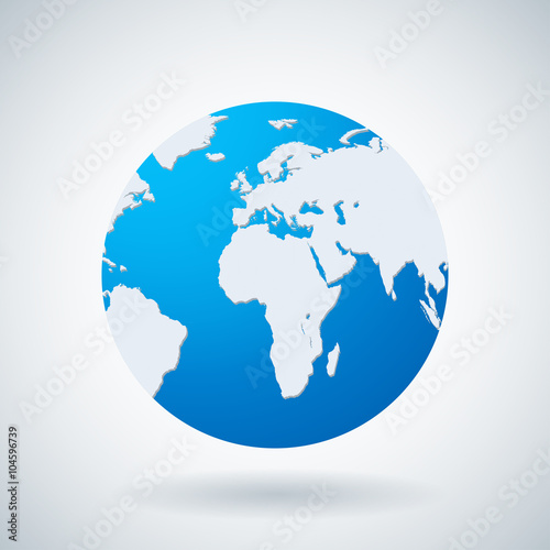 World map and globe detail vector illustration buy this stock world map and globe detail vector illustration gumiabroncs Gallery