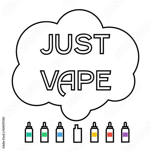 electronic cigarette with liquid and cloud vaping - Buy this