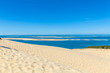 View from Dune of Pyla, Arcachon Bay