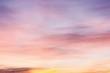 Sunrise in bright colours