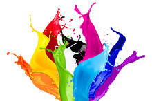 Colorful Wild Color Splash Iso...
