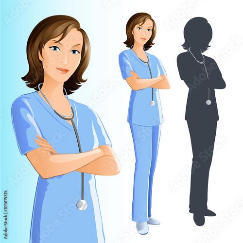 Fotografie, Obraz  Nurse (Woman)